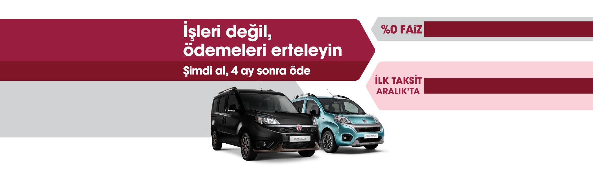 Fiat Ticari Araç Doblo Kampanyası